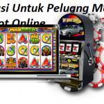 Informasi Untuk Peluang Menang Pada Slot Online